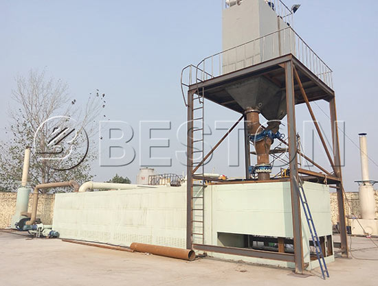 Continuous Plastic Pyrolysis Plant In India