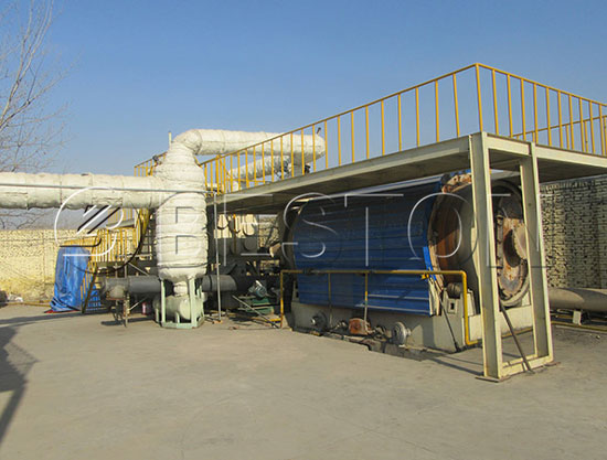 Small Pyrolysis Machine for Sale