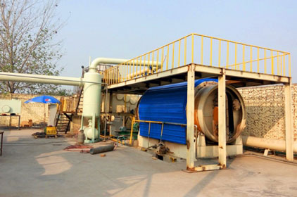 BLJ-6 batch pyrolysis plant