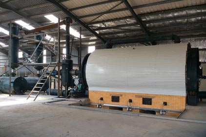 BLL-16 Semi-automatic pyrolysis plant