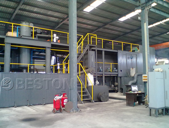 Beston Medical Waste Pyrolysis Plant