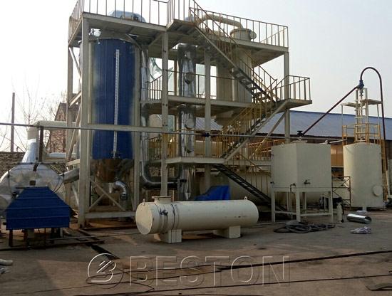 Waste Plastic To Diesel Oil Plant_Making Diesel From Plastic