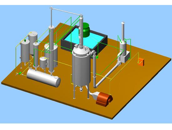 Waste Plastic To Diesel Equipment