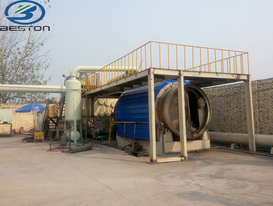 Mini Plastic To Oil Pyrolysis Plant