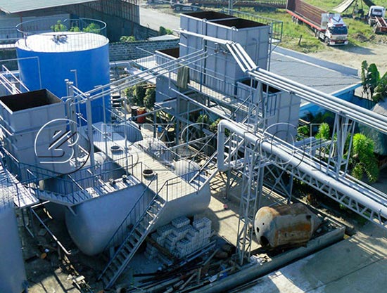 Plastic Oil Distillation Plant