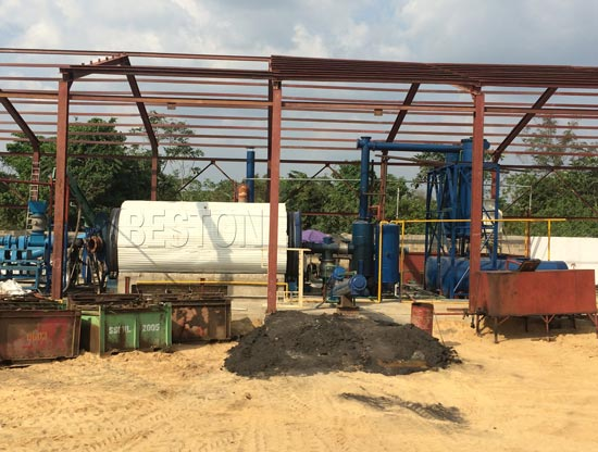 Plastic Pyrolysis Plant Design