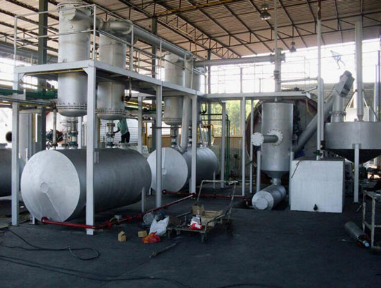 Plastic Pyrolysis To Oil Conversion Plant