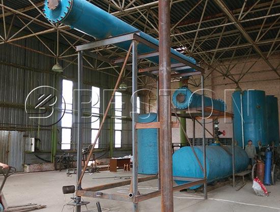 Waste Oil Refinery Plant In Ukraine