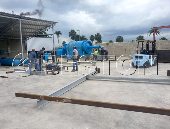 Mini Pyrolysis Machine