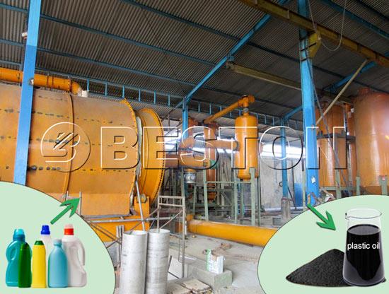 Plastic into Oil Machine for Sale