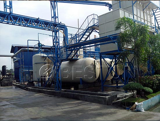 Waste Plastic To Diesel Plant Design