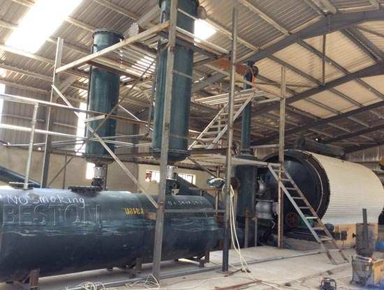 Tyre Pyrolysis Equipment in Jordan