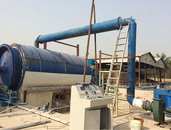 Plastic Pyrolysis Plant In Gujarat