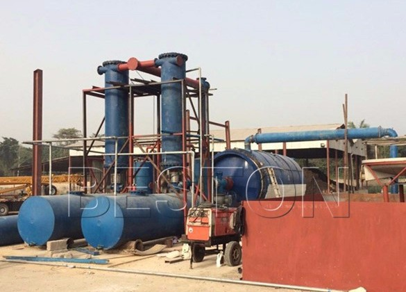 Plastic to Oil Conversion Technology
