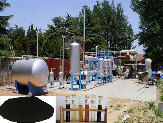 Waste Plastic To Fuel Conversion Plant Machine That