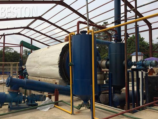 plastic to oil plant cost