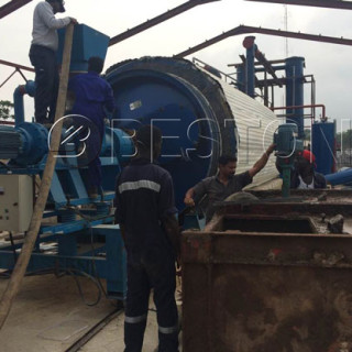 Plastic Pyrolysis Plant Was Installed In Nigeria