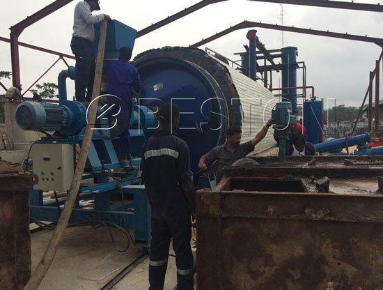 Waste Plastic to Fuel Oil Plant Was Installed In Nigeria
