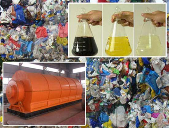 plastic to fuel conversion technology
