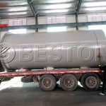 Waste Pyrolysis Plant Was Shipped To The Netherlands