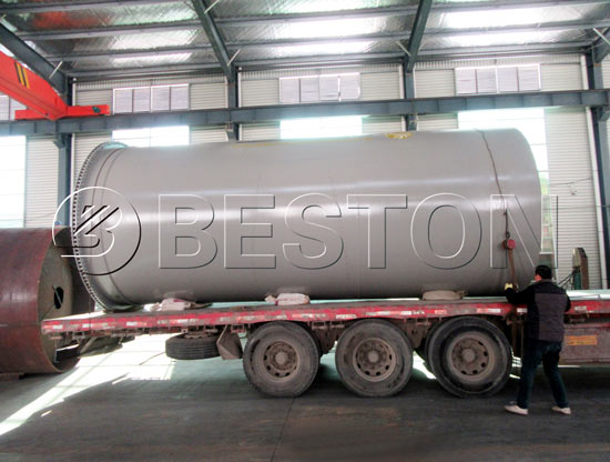 BLJ-10 Waste Pyrolysis Plant Was Shipped To The Netherlands