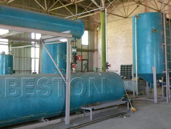 Waste Oil Distillation Machine Was Successfully Installed In Ukraine
