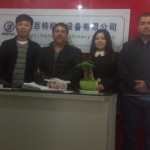 Chile Customers Came To Visit Beston Machinery