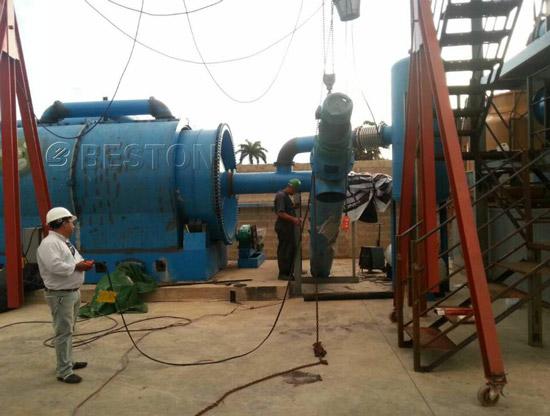 Beston Pyrolysis Equipment In Dominica