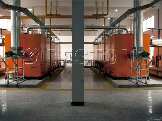 Biomass Carbonization Equipment Was Running in Australia