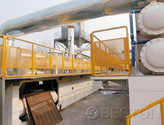 Continuous Plastic Pyrolysis Plant