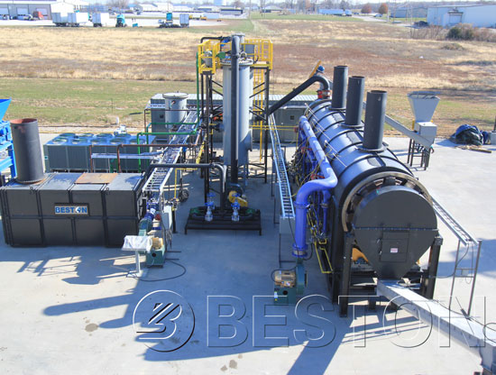Waste Plastic To Fuel Oil Plant