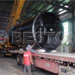 Beston Pyrolysis Equipment Was Being Sent To South Korea