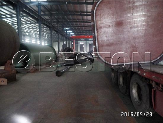 Beston waste pyrolysis equipment