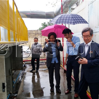 South Korean Customers Came to Beston factory To Pay A Visit