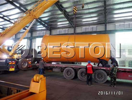 10T/D Waste Pyrolysis Plant and Oil Distillation Plant Have Been Shipped to Indonesia