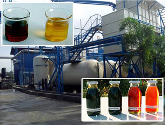 Continuous Plastic To Diesel Oil Plant