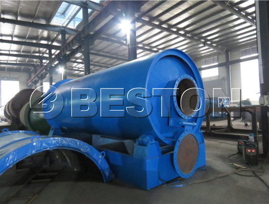 Beston pyrolysis equipment was going to be sent to Hungary