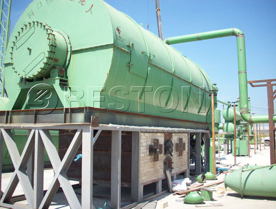 Beston Pyrolysis Plant in Thailand