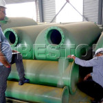 Two Suriname Customers Came to China For Visitting Beston Distillation Plant