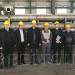 The Customers From Romania Came To Visit Beston Pyrolysis Equipment