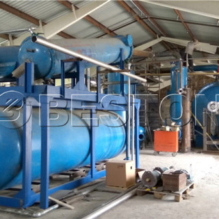 Beston Pyrolysis Equipment Has Been Installed In Hungary