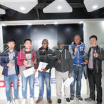 The Nigeria Customers Came to China to Inspect Our Company Headquarters