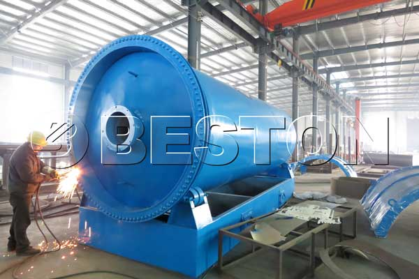 Waste Plastic Pyrolysis Plants For Sale Beston Machinery
