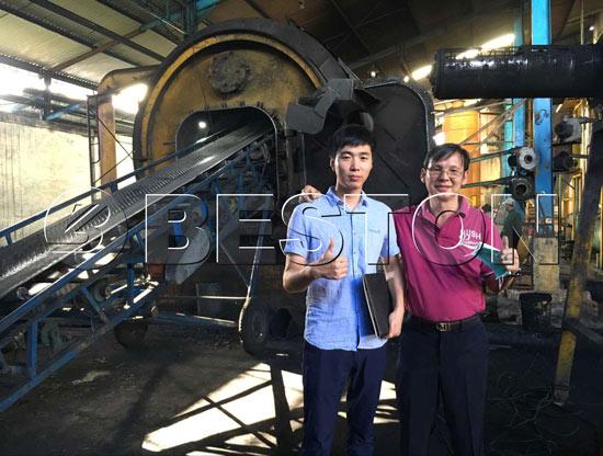 Beston Plastic Pyrolysis Plant in Indonesia