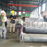 Customers from Singapore Interested in Beston BLJ-10 Pyrolysis Plant