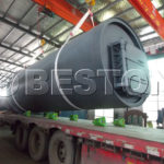 Beston BLJ-10 Pyrolysis Plant is Ready to Ship to South Africa
