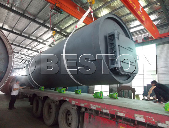 Beston Pyrolysis Plants in South Africa
