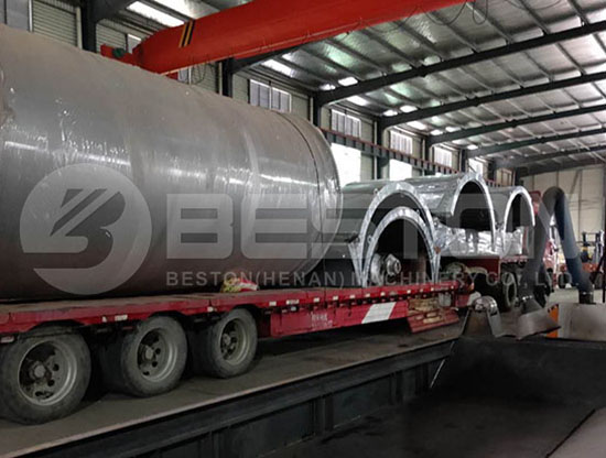 Shipping of Pyrolysis Plant