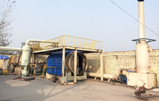 Beston Waste Plastic To Oil Plant for Sale