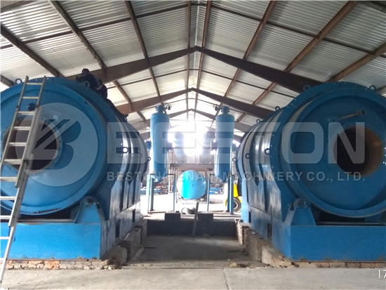 Plastic Pyrolysis Plant in Hungary